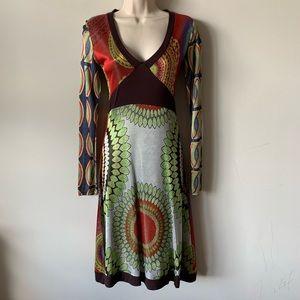 Desigual stunning sexy long sleeve dress
